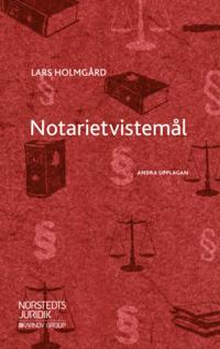 bokomslag Notarietvistemål