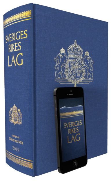 bokomslag Sveriges Rikes Lag 2019 (klotband) : När du köper Sveriges Rikes Lag 2019 får du även tillgång till lagboken som app med riktig lagbokskänsla.