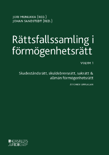 bokomslag Rättsfallssamling i förmögenhetsrätt. Volym 1