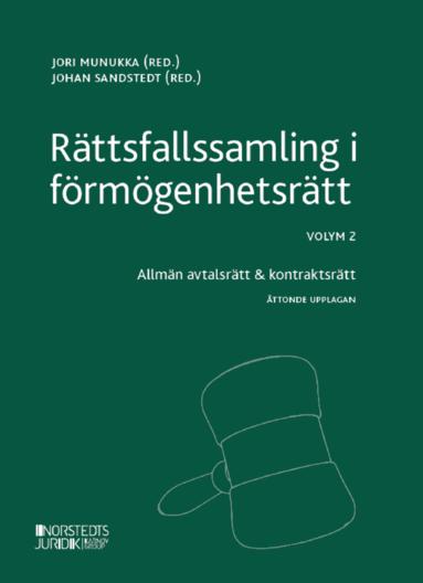 bokomslag Rättsfallssamling i förmögenhetsrätt. Volym 2