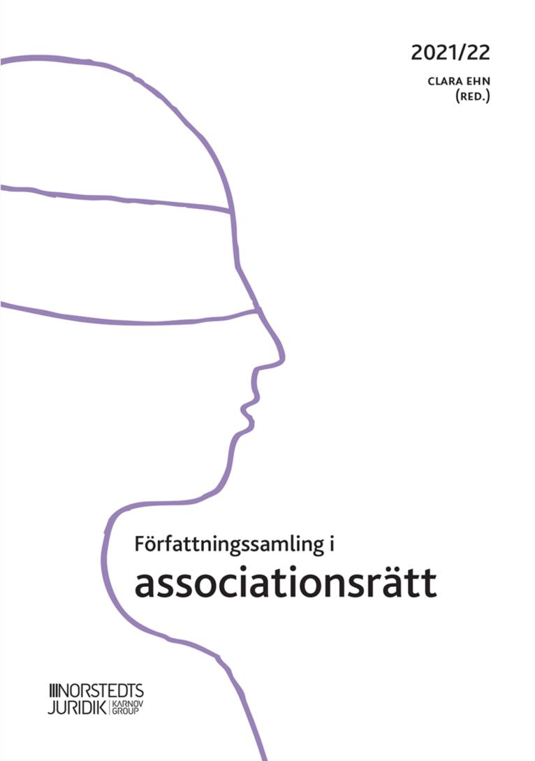 Författningssamling i associationsrätt : 2021/22 1
