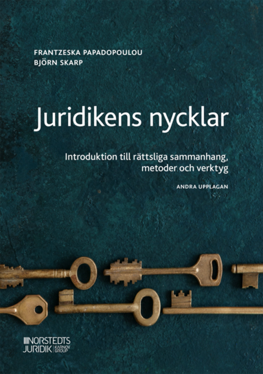 bokomslag Juridikens nycklar : Introduktion till rättsliga sammanhang, metoder och ve