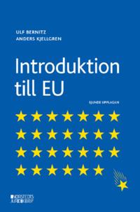 bokomslag Introduktion till EU