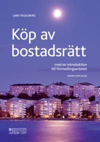 bokomslag Köp av bostadsrätt : med en introduktion till förmedlingsarbetet