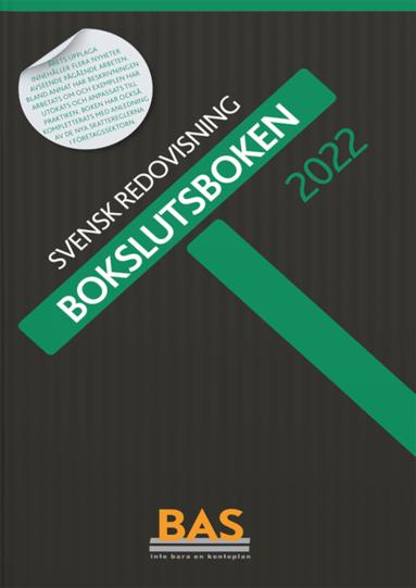 bokomslag Bokslutsboken 2022