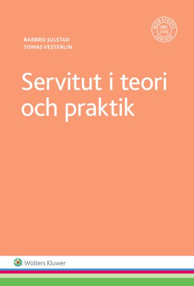 bokomslag Servitut i teori och praktik