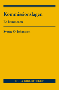 bokomslag Kommissionslagen : en kommentar