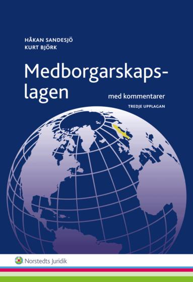 bokomslag Medborgarskapslagen : Med kommentarer