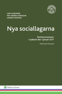 bokomslag Nya sociallagarna : med kommentarer i lydelsen den 1 januari 2017