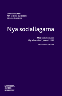 bokomslag Nya sociallagarna : med kommentarer i lydelsen den 1 januari 2018