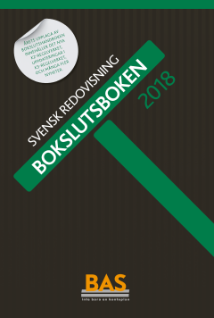 bokomslag Bokslutsboken 2018 : svensk redovisning