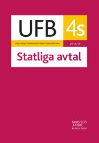bokomslag UFB 4 S Statliga avtal 2018/19