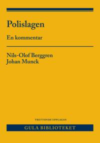 bokomslag Polislagen : en kommentar