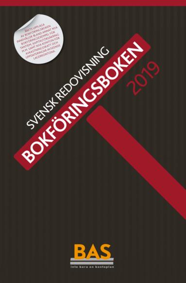 bokomslag Bokföringsboken 2019 : svensk redovisning
