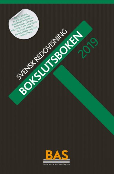 bokomslag Bokslutsboken 2019 : svensk redovisning