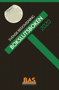 bokomslag Bokslutsboken 2020 : svensk redovisning