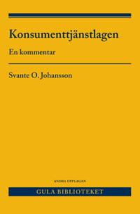 bokomslag Konsumenttjänstlagen : en kommentar