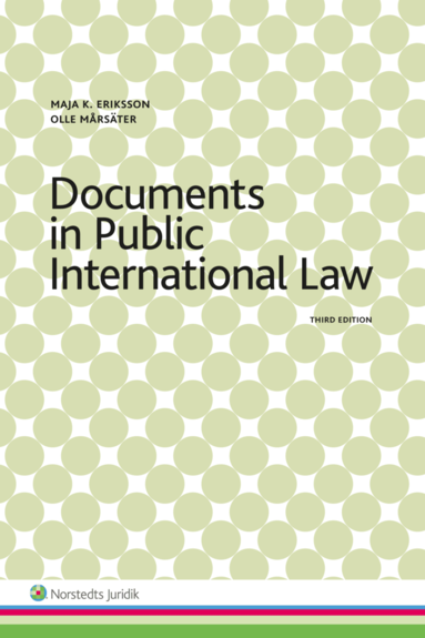 bokomslag Documents in Public International Law