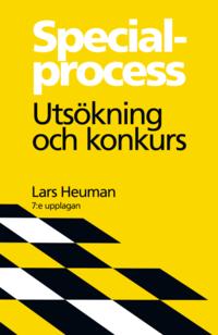 bokomslag Specialprocess : utsökning och konkurs