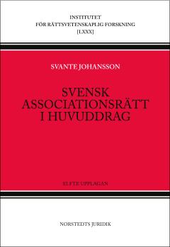 bokomslag Svensk associationsrätt i huvuddrag