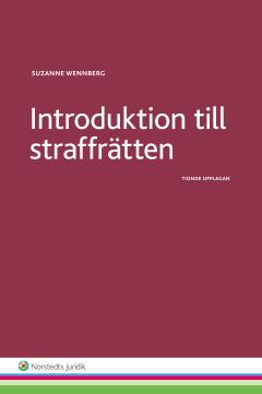 bokomslag Introduktion till straffrätten