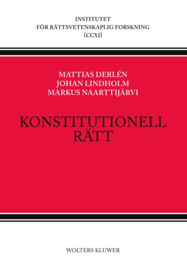 bokomslag Konstitutionell rätt