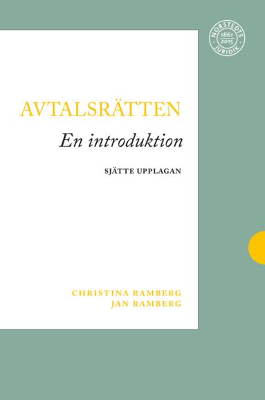 bokomslag Avtalsrätten : en introduktion