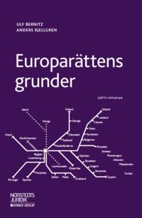 bokomslag Europarättens grunder