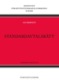 bokomslag Standardavtalsrätt
