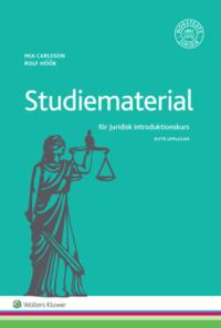 bokomslag Studiematerial för Juridisk introduktionskurs