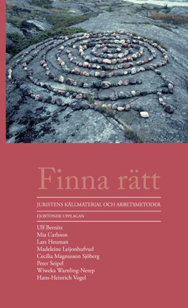bokomslag Finna rätt : juristens källmaterial och arbetsmetoder
