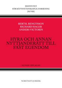 bokomslag Hyra och annan nyttjanderätt till fast egendom