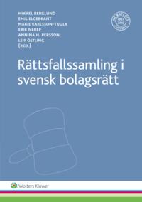 bokomslag Rättsfallssamling i svensk bolagsrätt