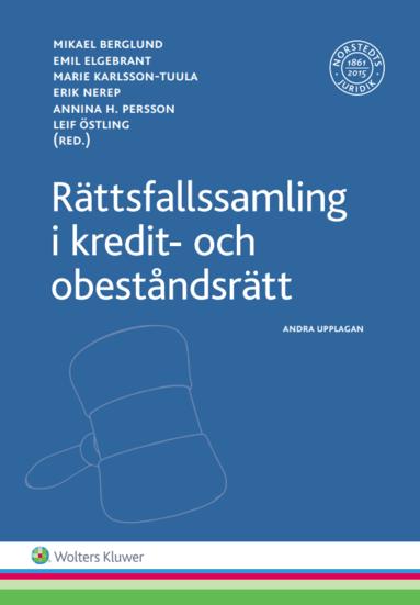 bokomslag Rättsfallssamling i kredit- och obeståndsrätt