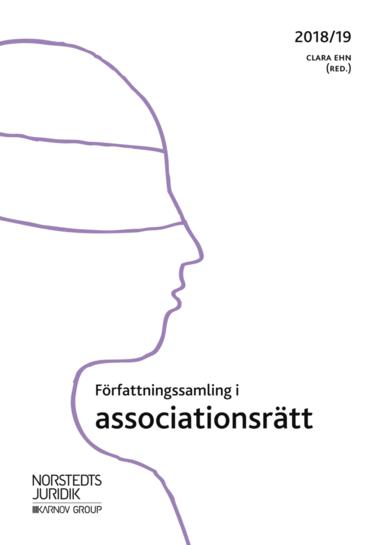 bokomslag Författningssamling i associationsrätt : 2018/19
