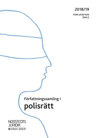 bokomslag Författningssamling i polisrätt : 2018/19