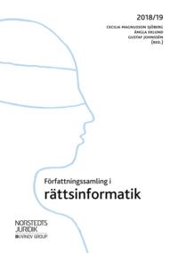 bokomslag Författningssamling i rättsinformatik : 2018/19