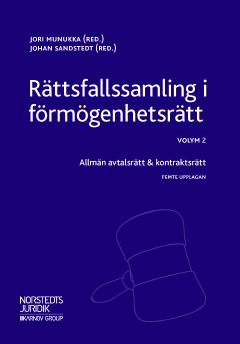 bokomslag Rättsfallssamling i förmögenhetsrätt Vol. 2, Allmän avtalsrätt & kontraktsrätt