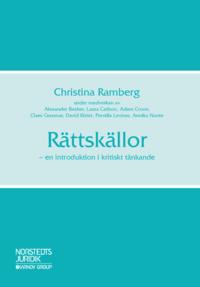 bokomslag Rättskällor : en introduktion i kritiskt tänkande