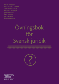 bokomslag Övningsbok för Svensk juridik :