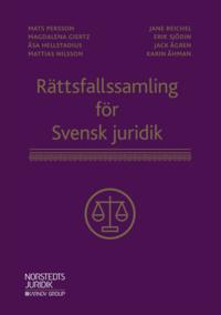 bokomslag Rättsfallssamling för Svensk juridik
