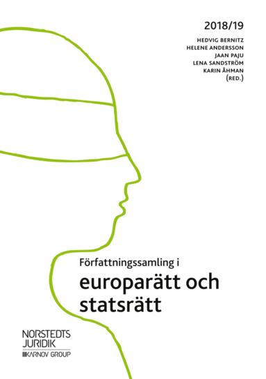 bokomslag Författningssamling i europarätt och statsrätt