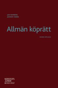 bokomslag Allmän köprätt