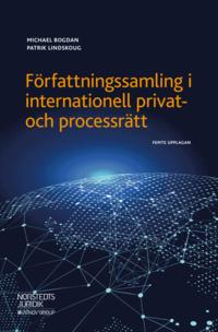 bokomslag Författningssamling i internationell privat- och processrätt