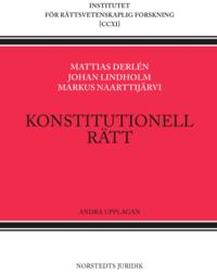 bokomslag Konstitutionell rätt :