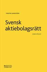 bokomslag Svensk aktiebolagsrätt