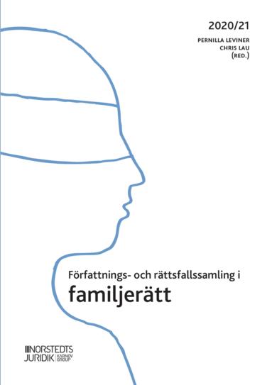 bokomslag Författnings- och rättsfallssamling i familjerätt : 2020/21