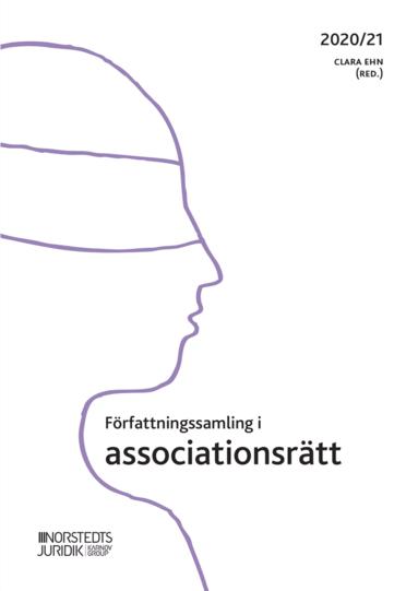 bokomslag Författningssamling i associationsrätt : 2020/21
