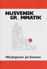 bokomslag Nusvensk grammatik