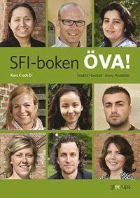 bokomslag SFI-boken ÖVA! Kurs C och D